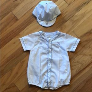 Boy's smocked outfit